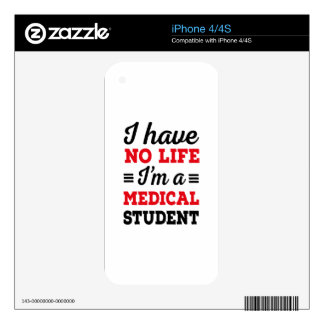 medical student skins for iPhone 4
