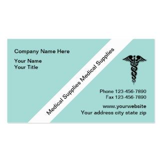 Medical Supplies Business Card