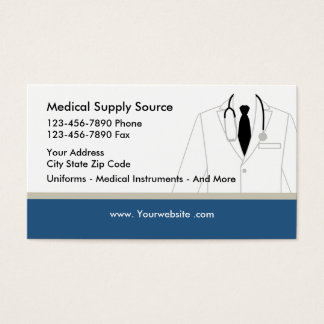 Medical Supply Business Card