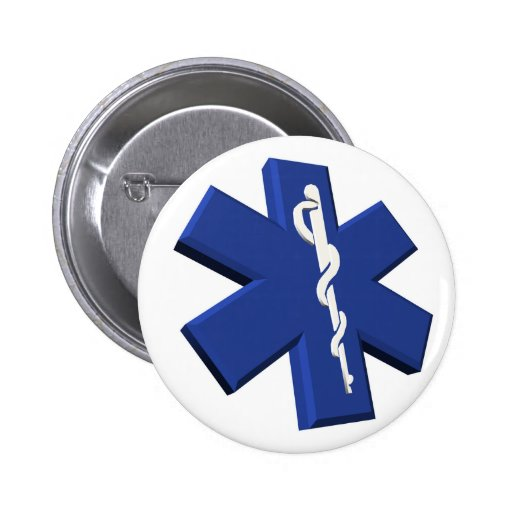 Medical Symbol Button