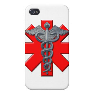 Medical Symbol Cover For iPhone 4