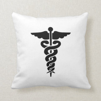 Medical Symbol Nurses and Doctors Cushion