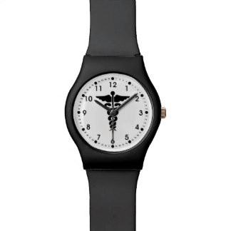 Medical Symbol Nurses and Doctors Watch