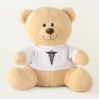 Medical Symbol Teddy Bear