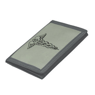 Medical Symbol Trifold Wallet