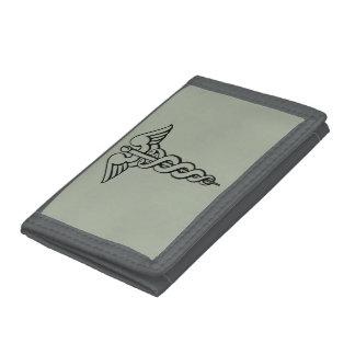 Medical Symbol Trifold Wallet