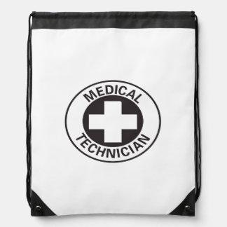 Medical Technician Sign Drawstring Bag