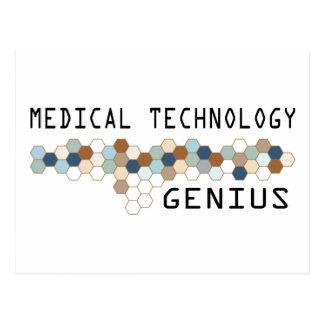 Medical Technology Genius Postcard