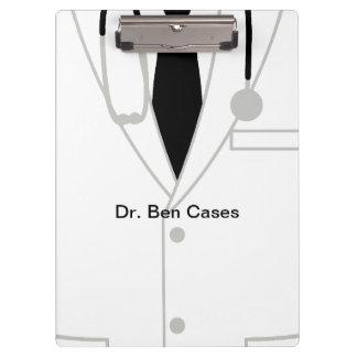 Medical Theme Doctor Acrylic Clipboard
