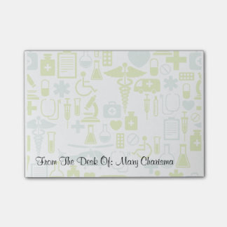 Medical Theme Post Notes