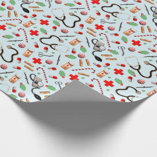Medical-themed Holidays Wrapping Paper