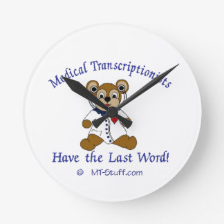 Medical Transcription Clock