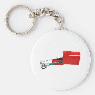 MedicalInfoMail071209 Basic Round Button Key Ring