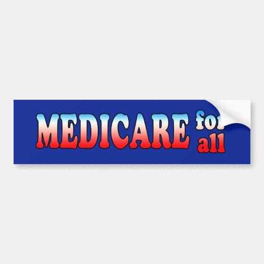 Medicare for All Bumper Sticker