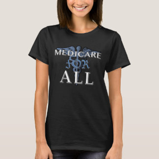 MEDICARE FOR ALL t-shirt blk
