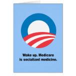 Medicare is socialised medicine cards
