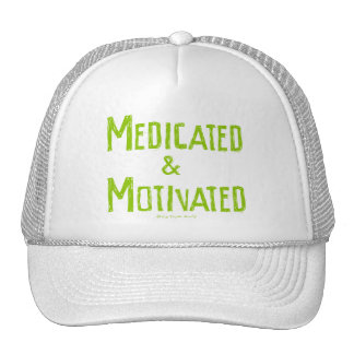 Medicated & Motivated Mesh Hats