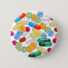 Medication 6 Cm Round Badge