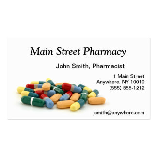 Medication Business Card