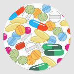 Medication Classic Round Sticker
