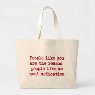 Medication Jumbo Tote Bag
