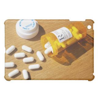 Medication spilled on table iPad mini covers