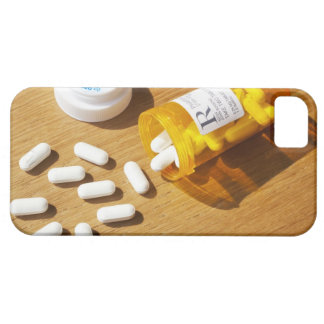 Medication spilled on table iPhone 5 cases