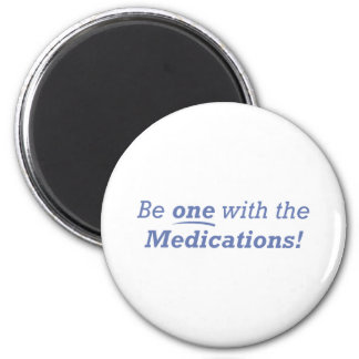 Medications / One 6 Cm Round Magnet