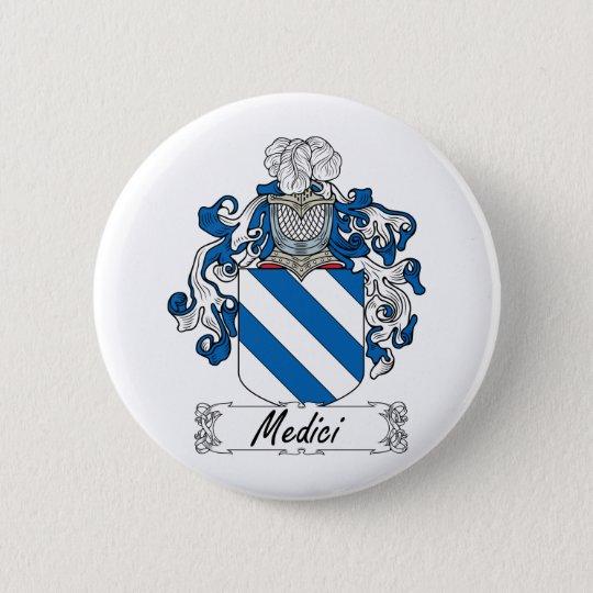 Medici Family Crest 6 Cm Round Badge