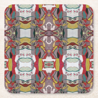 Medici Gardens Reflections Colorful Coaster