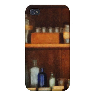 Medicine Chest With Asthma Medication iPhone 4 Covers