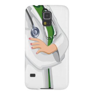 Medicine Female  Doctor Galaxy S5 Cases