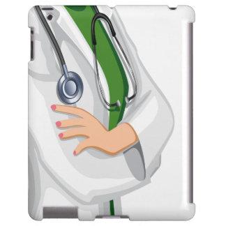 Medicine Female  Doctor iPad Case