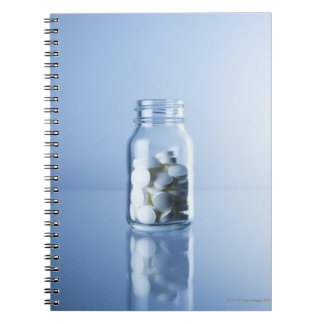medicine in the bottle spiral notebook