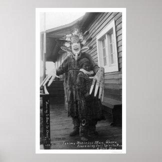 Medicine Man Eskimo 1912 Posters