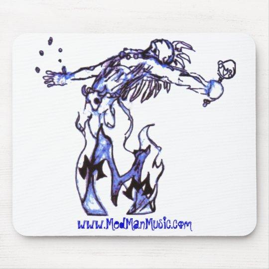 Medicine Man Music - Logo Mousepad