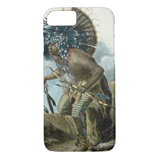 Medicine man of the Mandan tribe in the costume of iPhone 8/7 Case