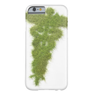 Medicine symbol made of grass barely there iPhone 6 case