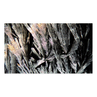 Medicine under a Microscope, Nystatin crystals Pack Of Standard Business Cards