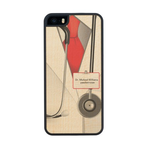 Medicines Doctor Carved® Maple iPhone 5 Slim Case