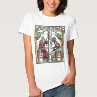 Medieval Alchemy Distillation Tee Shirts