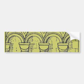 Medieval Architecture Bumper Sticker