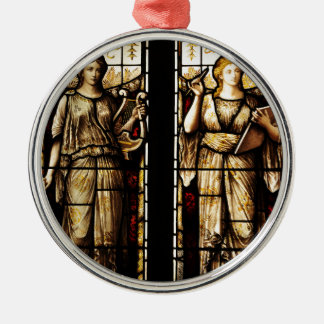 Medieval art christmas ornament