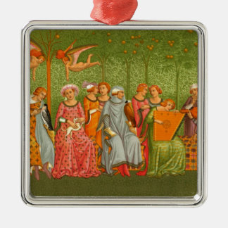 Medieval Art - Le Songe de la Vie Christmas Ornament