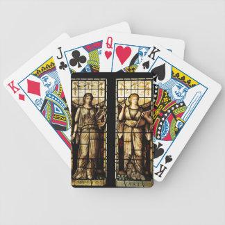Medieval art poker deck