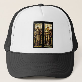 Medieval art trucker hat