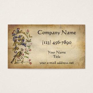 Medieval Bird Business Card