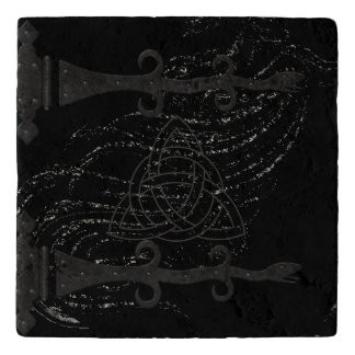Medieval Black Witchcraft Ritual Occult Altar Trivet