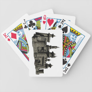 Medieval Castle Bicycle Playing Cards
