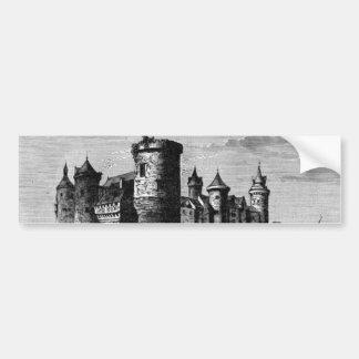 Medieval Castle Bumper Sticker